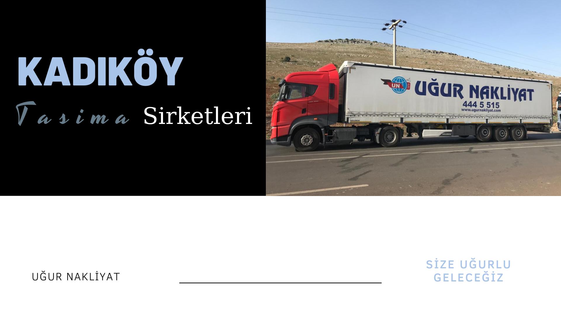 Kadıköy taşıma şirketleri